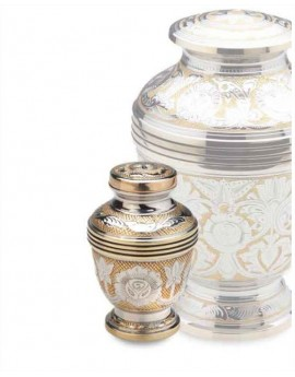 Keepsake Urn - Monarch Jali