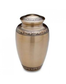 Funeral urns - Infinity Gold