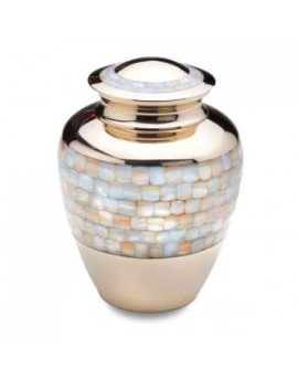 Funeral urns - Mother of Pearl