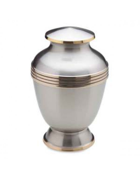 Funeral urns - Monarch Platinum