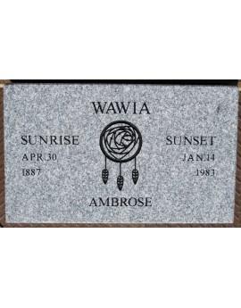 Granite Memorial Plaques #013
