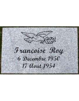 Granite Memorial Plaques #016