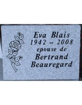 Granite Memorial Plaques #017