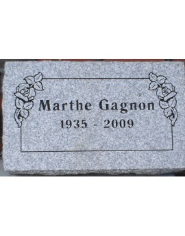 Granite Memorial Plaques #018