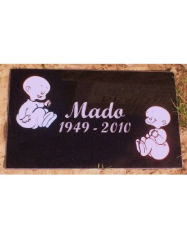 Granite Memorial Plaques #020