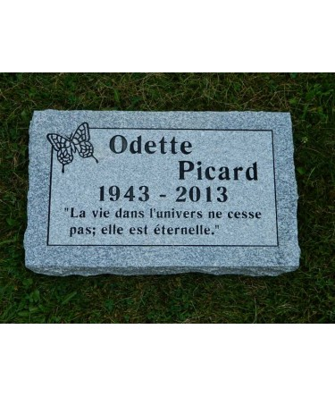 Granite Memorial Plaques #029