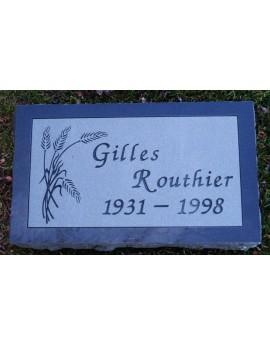 Granite Memorial Plaques #035