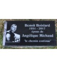 Granite Memorial Plaques #039